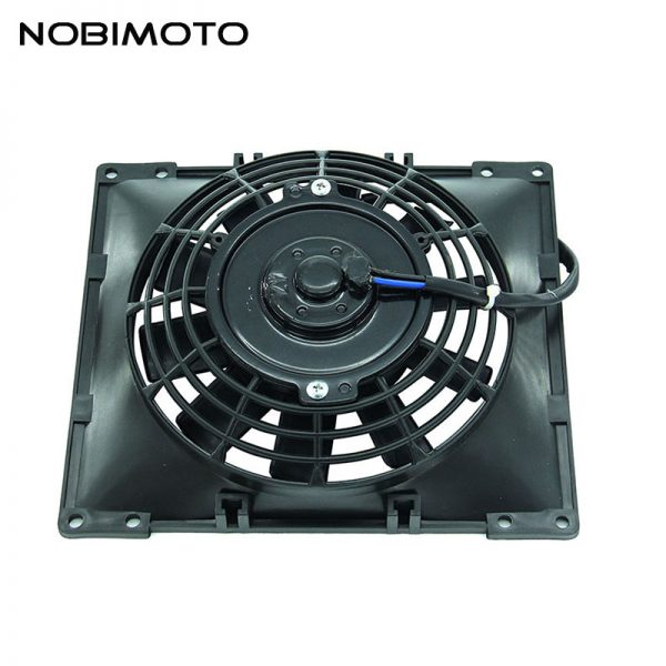 Hot Sales Good Quality Cooling Fan Oil Cooler Water Cooler Radiator Cooling Fan For ATV Quad Go Kart Buggy Dirt Pit Bike FS-003