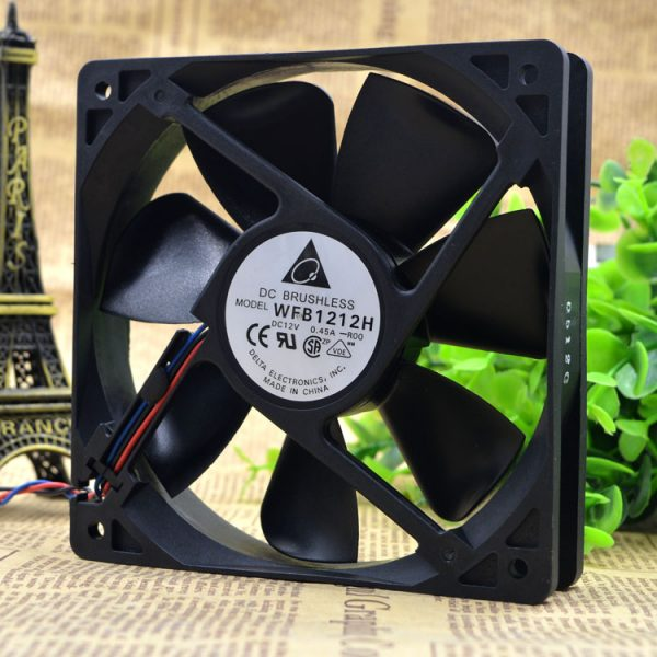 Delta WFB1212H12025 12v 0.45 A 12cm mill chassis Cooling Fan