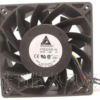 4-wire cooling fan. Free delivery.FFB1348EHE 48V 1.00A 12.7CM 13CM 12738 4-wire cooling fan