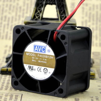 The original AVC F4028B12H 40*40*28 4CM 12V 0.3A CPU dual ball fan