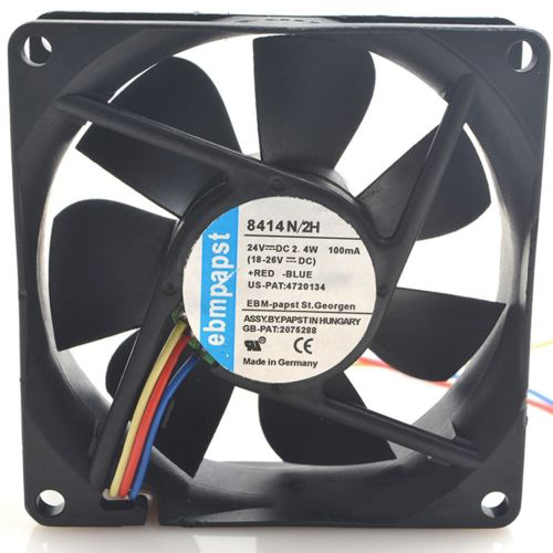 3line 24V 8cm 8414 N/2H 2.4W for ebmpapst cooling fan