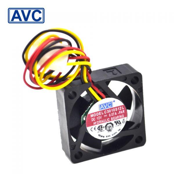 AVC C3010S12L 12V 0.07A ultra quiet hard drive fan