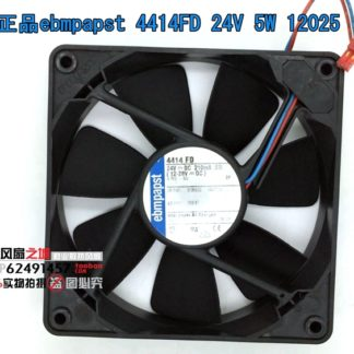 Free shipping Original German ebmpapst 12cm 12025 24V 5W 4414FD120 * 120 * 25mm cooling fan Two-wire Frequency