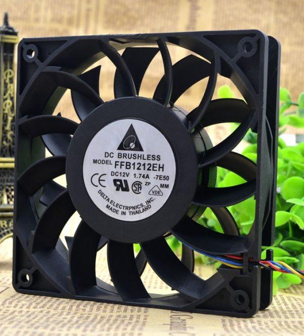 SSEA New server inverter cooling fan for Delta FFB1212EH 12025 12V 1.74A 12CM 12025 120X120X25MM