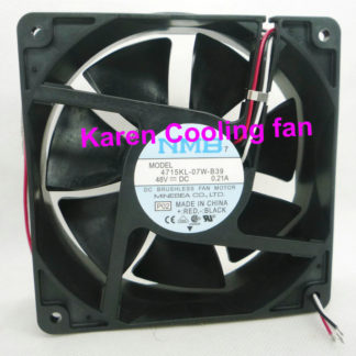 New Original NMB 12cm 4715KL-07W-B39 -P02 12038 48V 0.21A 3wire cooling Fan 120*120*38MM