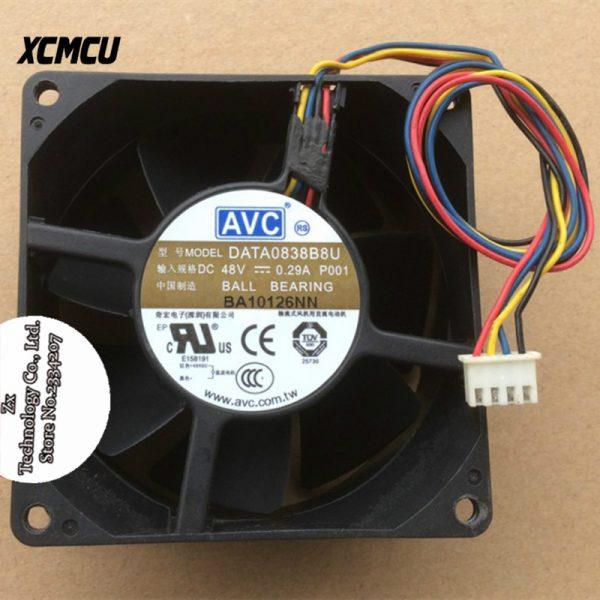 New original DATA0838B8U 8038 8CM 48V 0.29A 4-wire dual ball radiating fan in stock~