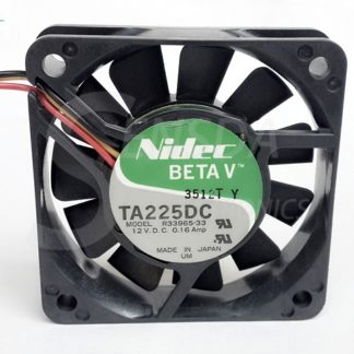 Original NIDEC 6015 60mm 6cm DC 12V 0.16A R33965-33 server inverter axial cooling Fan radiator