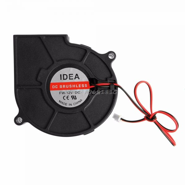 75mmx30mm DC 12V 0.24A 2-Pin Computer PC Sleeve-Bearing Blower Cooling Fan 7530 Z17 Drop ship