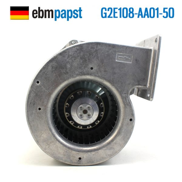 ebmpapst G2E108-AA01-50 AC 220-240V 0.18A 45W 168x159x76mm Turbo blower