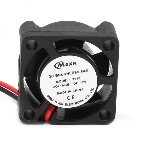 25*25*10mm 12V 2Pin DC Small 2-Wire Brushless Cooler Cooling Fan For 3D Pinter Part High Quality