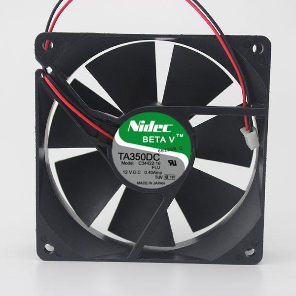 Original TA350DC C34422-16 12V 0.4A 9025 9CM inverter fan