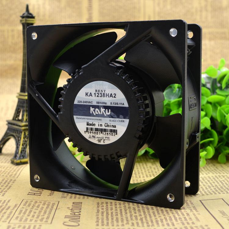 KAKU KA1238HA2 220V 0.13A metal blades Waterproof fan