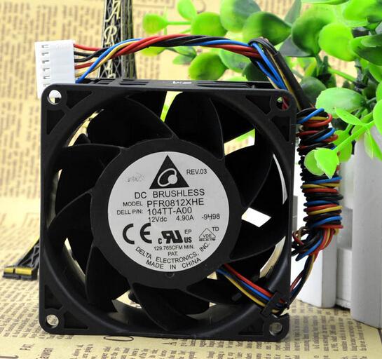Delta PFR0812XHE 8cm 4.9A ultra violent fan