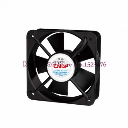 115V AC 65W 0.8A 254CFM 200*200*60mm TA20060HBL-1 Square Ventilating fan / Industrial Pipe Axial Exhaust Fan