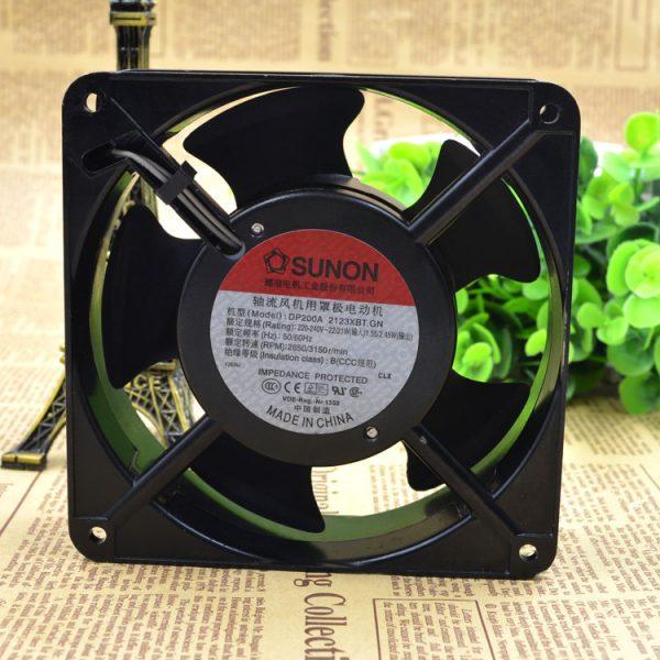 Original SUNON DP200A 2123XBT 12038 12CM 220V 120 * 120 * 38MM Cabinet Cooling Fan