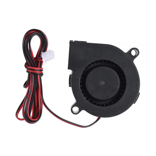 24V DC 50mm Blow Radial Fan Cooling Hot End Extruder for RepRap i3 3D Printer Blow Radial Fan Cooling For 3D Printing