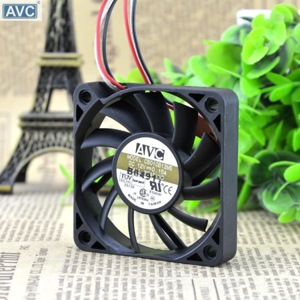 Original AVC F6010B12MS C6010B12H 6010 12V 0.1A 0.15A fan