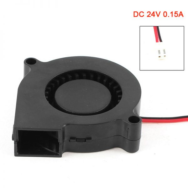 New 2 Pin Connector Brushless DC 24V 0.15A Turbo Blower Cooling Fan QJY99