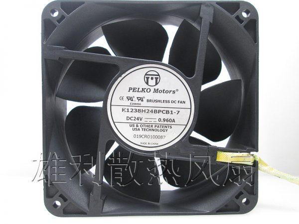 Free Delivery.K1238H24BPCB1-7 24V 0.96A 12CM 12038 Inverter fan