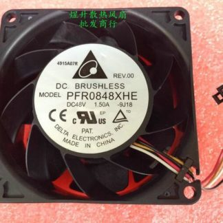 Wholesale Original Delta PFR0848XHE DC 48V 8CM 80*80*38mm 1.50A 8038 4- Line Air Cooling Fan