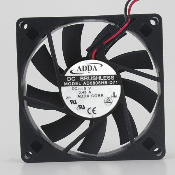Free Delivery.Up to 6 cm 6025 12 v 0.30 A AFB0612VH - f00 three wire chassis power supply fan