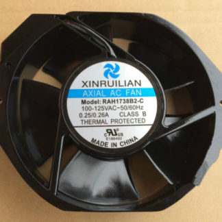 XINRUILIAN RAH1738B2-C Axial AC fan 200-230VAC 0.25/0.26A 50/60Hz 172*150*38mm