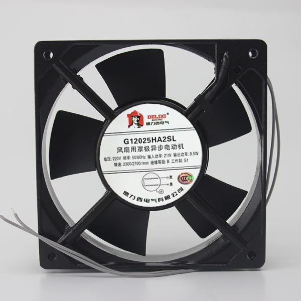 Genuine 120 * 120 * 25 12cm G12025HA2SL 220v cabinet fan