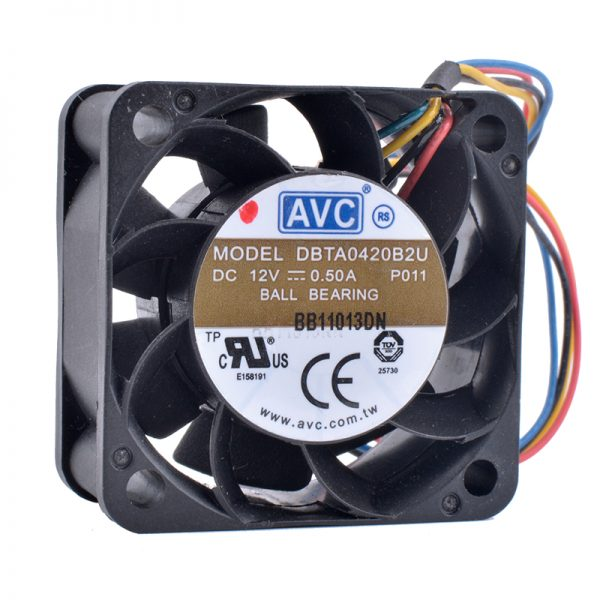 2Pcs Gdstime Power Supply USB 80mm x 25mm 5V 8025 8cm S DC Fan 80x80x25mm PC Case Heatsink Cooling Fan