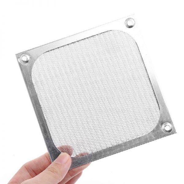 80/90/120mm Size Metal Dustproof Mesh Dust Filter Net Guard For PC Computer Machine Box Cooling Fan, Computer Fan Dust Filter