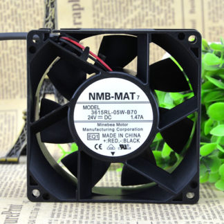 NMB 24VDC 92*92*38.4MM 7200RPM 615RL-05W-B70-E00 DC fan