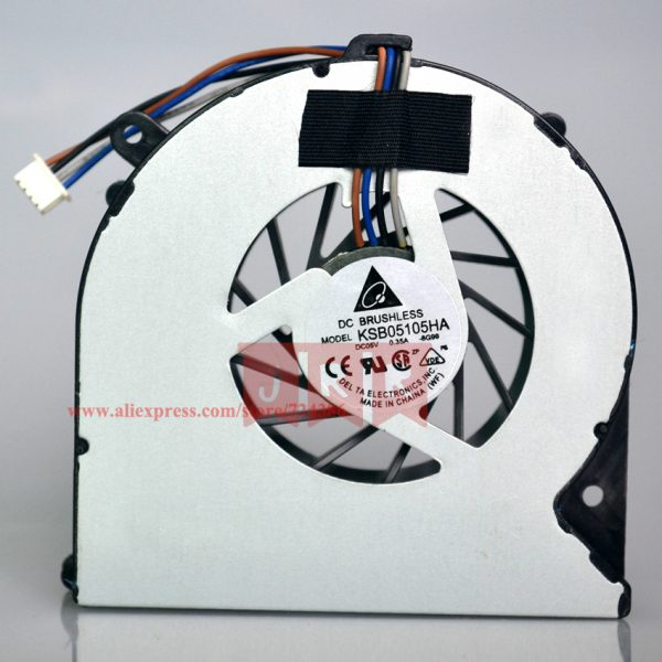 Original New CPU Cooler Fan Fit For HP 4530S 4535S 4730S 6460B EliteBook 8450P 8460P DELTA KSB0505HB KSB05105HA 4 Pin