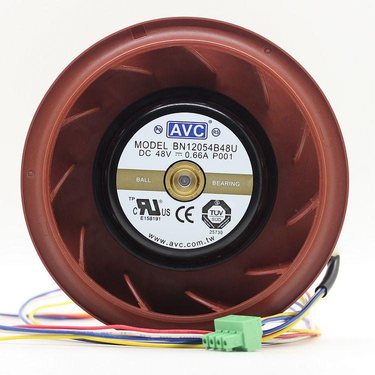 NEW AVC BN12054B48U P001 48V 0.66A Centrifuge 4PIN cooling fan