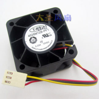 high quality 4028M12B-PF1 New original T&T 40mm 4cm DC 12V 0.22A 7200RPM ball bearing axial case cooling fan