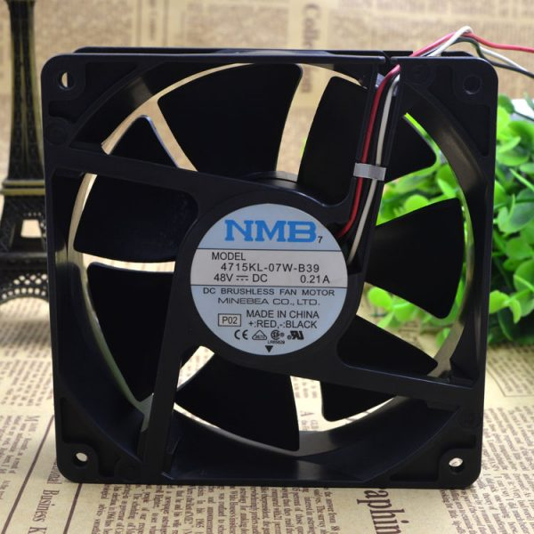 Free Delivery.12038 kl 4715-07 w - B39 48 v 0.21 A 12 cm fan is 120 * 120 * 38 communication equipment