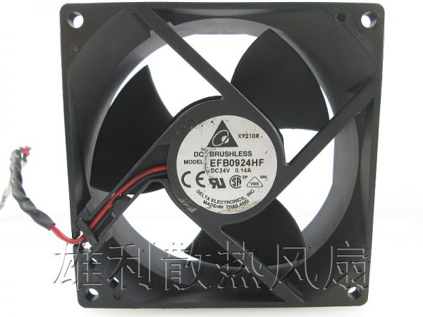 Free Delivery.9CM fan 9032 24V 0.14A EFB0924HF two-wire inverter cooling fan