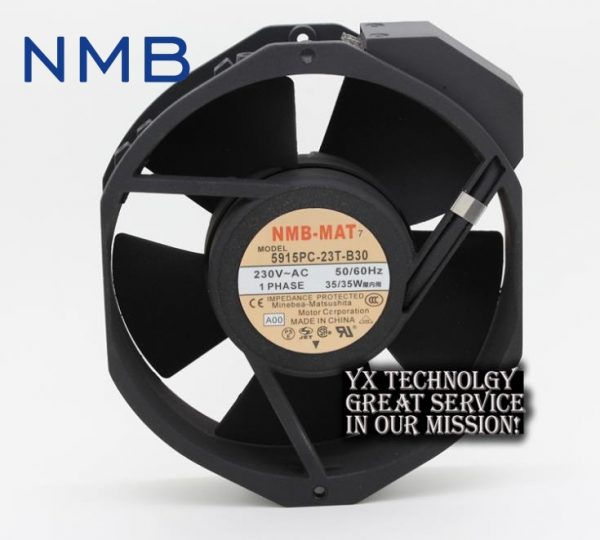New 17038 double ball 220V AC fan 5915PC-23T-B30 35W for NMB-MAT7 170*170*38mm