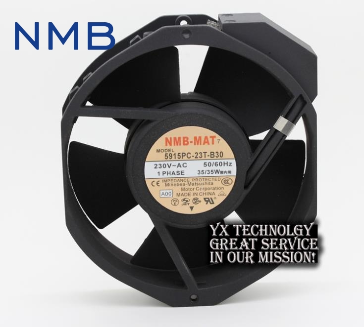 New 17038 double ball 220V AC fan 5915PC-23T-B30 35W for NMB-MAT7 170*170*38mm
