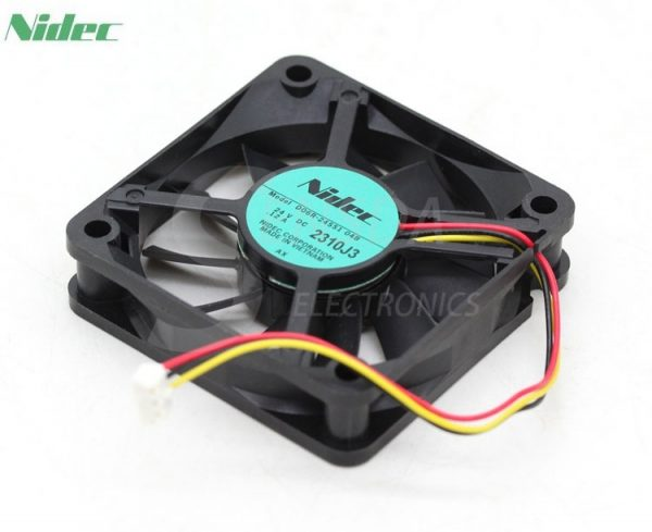 Wholesale Original NIDEC D06R-24SS1 04B 6cm 60MM 24V 0.12A 6015 three-wire inverter fan