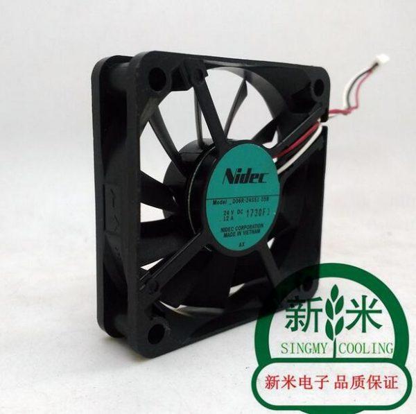 Original NIDEC D06R-24SS1 05B 6cm DC 24V 0.12A 6015 60*60*15MM 3 Lines Mute Inverter Fan