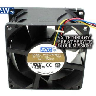 New and Original DATA0838B8U 8038 8 48V 0.29A 4 wire dual ball bearing fan 80*80*38mm
