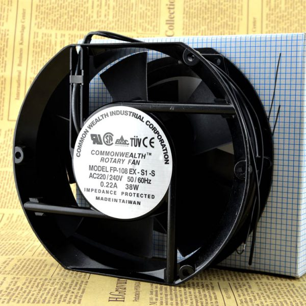 Free Delivery. New original FP - 108 ex - S1-220 - v S oil bearing 17250 cooling fan fan