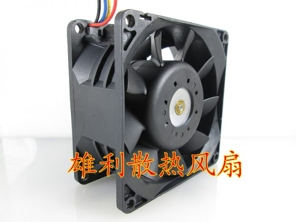 Free Delivery.2B08038B48U 48V 0.58A 8CM 8038 4 wire axial flow intelligent PWM cooling fan