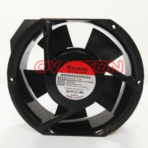 SUNON A2175-HBT TC.GN Ball bearing Axial flow fan 220-240V 25/26W 171*151*51mm