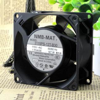 NMB 3115PS-12T-B30 115V 80*80*38 IPC industrial equipment fan aluminum machine high temperature