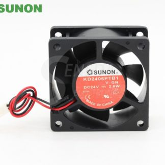 Original sunon KD2406PTB1 6025 6cm 60mm DC 24V 2.6W drive server inverter axial cooling fans