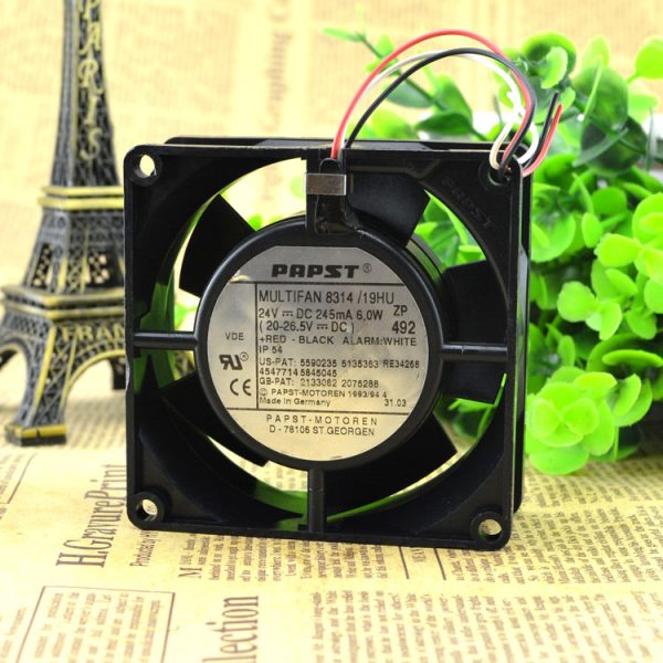 Free Delivery. 8314 h 8032 DC24V 6.0 W inverter double ball bearing fan