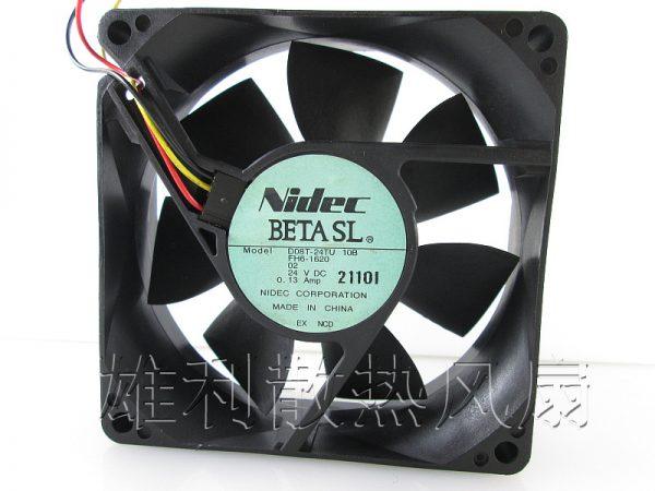 Free Delivery.D08T-24TU 10B 24V 0.13A 8CM 8025 Copier inverter cooling fan