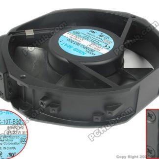 NMB-MAT 5915PC-10T-B30 B00 AC 100V 37/33W Server Round fan