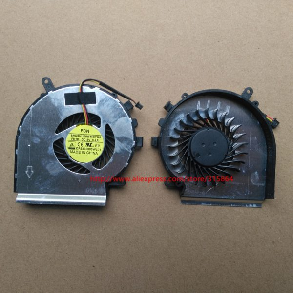 New CPU GPU Cooling fan For Msi GP62 2QE GE72 GL62 GL72 PE70 PE60 GE62 Laptop Cooler Radiators