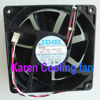 New original NMB 4715KL-07W-B39 12038 48V 0.21A 12cm 120 * 120 * 38mm cooling fan tachometer